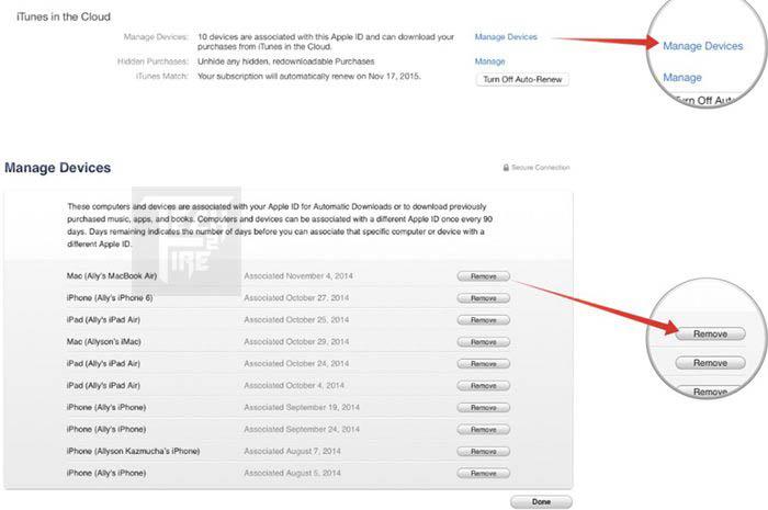 De-Authorize-A-Computer from iTunes techfire
