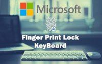 Microsoft To Put Fingerprint Sensor In Keyboard Keys
