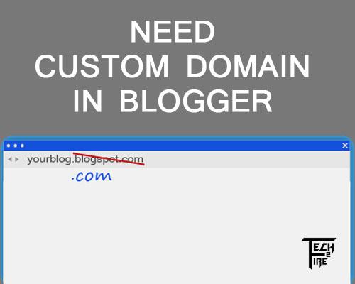 Using Custom Domain In Blogger
