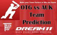 OTG vs AUK 14th Match Dream11 Prediction